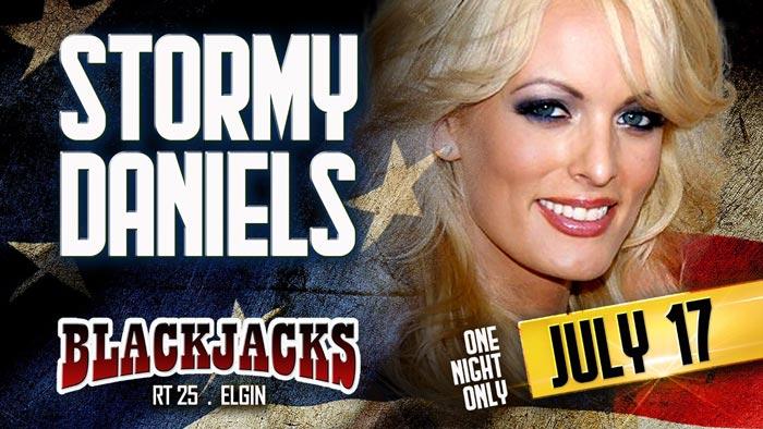 Stormy Daniels at BlackJacks Club