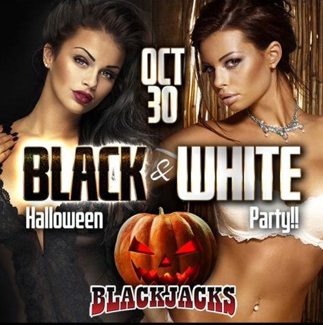 Black & White Halloween Party <br> October 30th